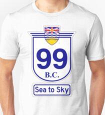 British Columbia 99 - Sea to Sky Unisex T-Shirt