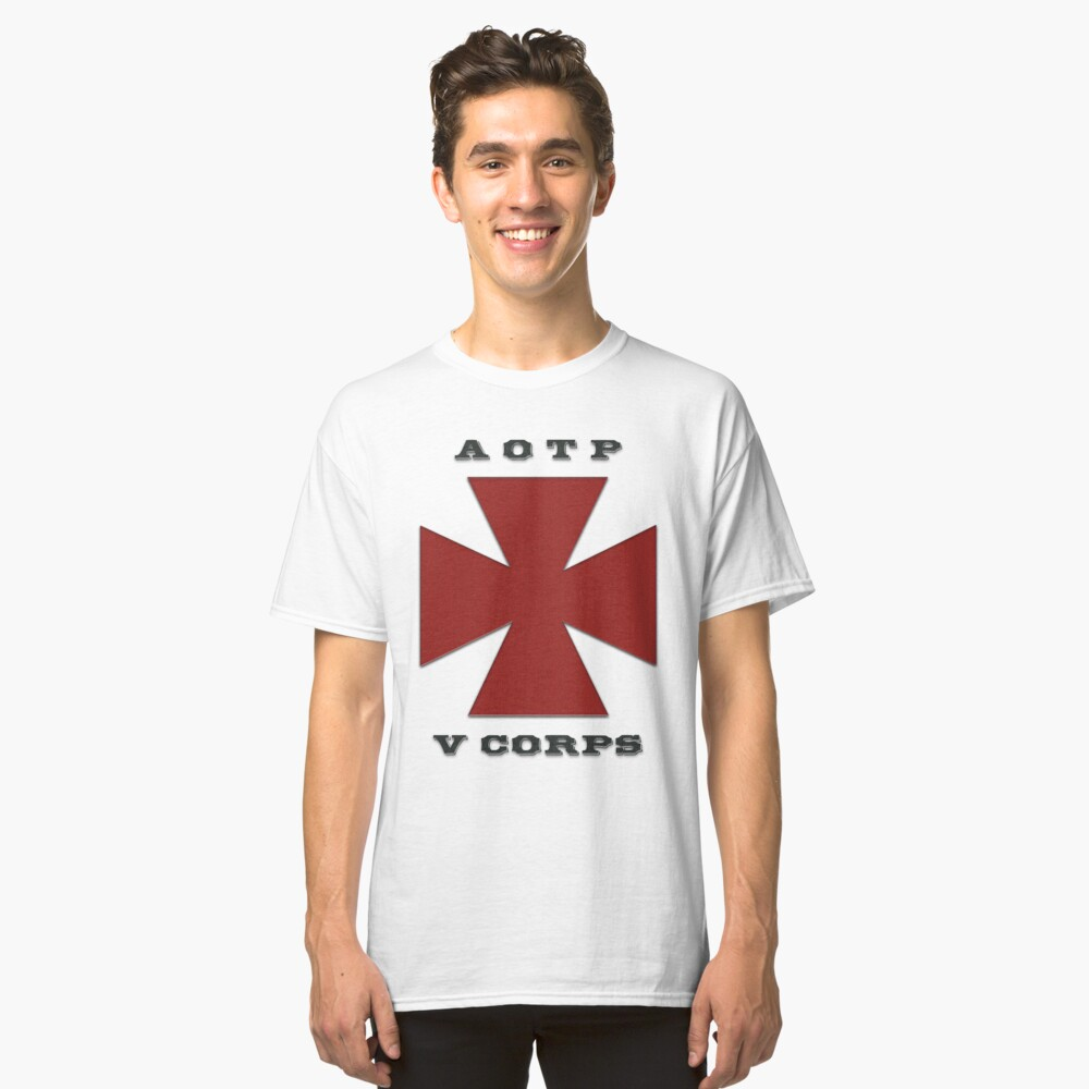 Army of the Potomac Fifth Corps Emblem Classic T-Shirt Front