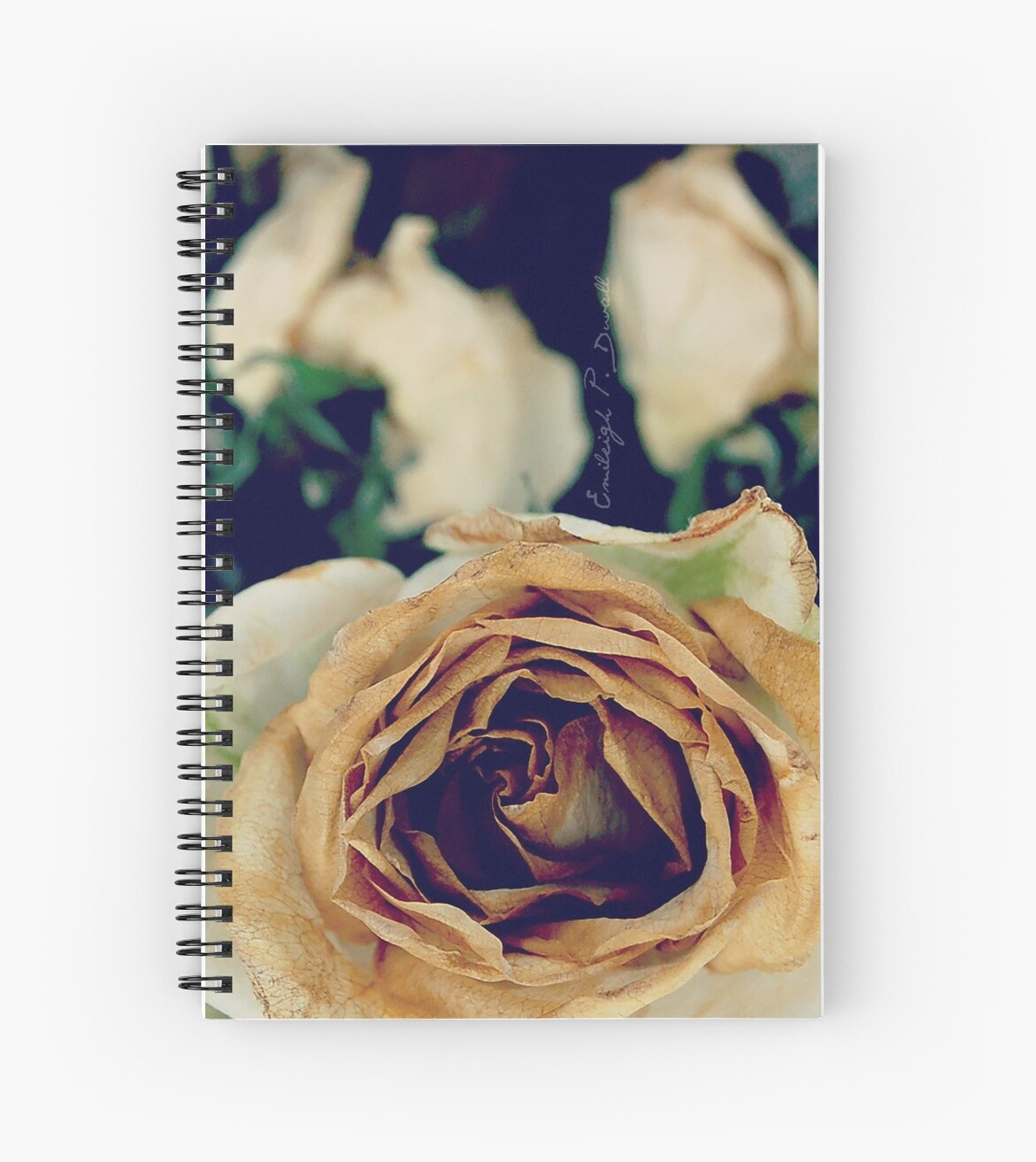 Rose Sketch Book by EmileighDuvall