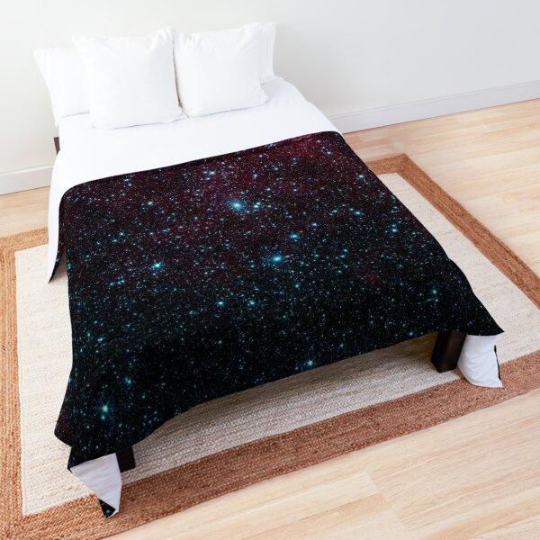 Glittering Star Galaxy  Comforter