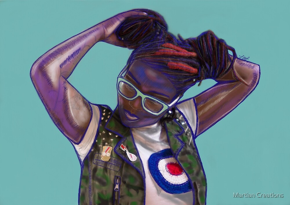 Tank Girl Got A Tan by martiancreation
