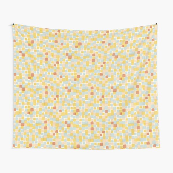 Beach squares  Tapestry