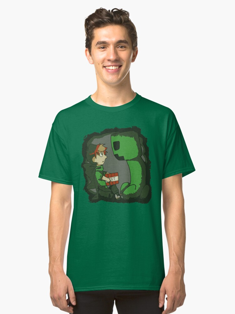 Gavin and The Creeper Classic T-Shirt Front