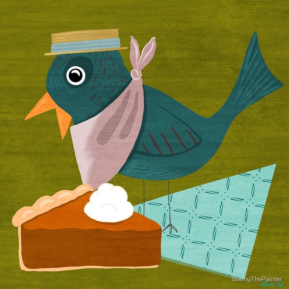 All Birds Love Pie by BunnyThePainter