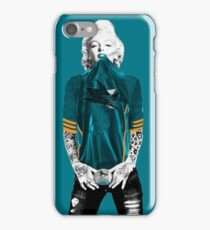 Marilyn Monroe For San Jose Sharks iPhone Case/Skin