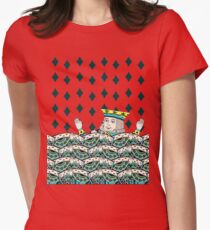 Red King Overboard Women's Fitted T-Shirt
