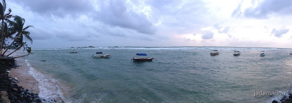 Sunset Beach Holiday by jademarina