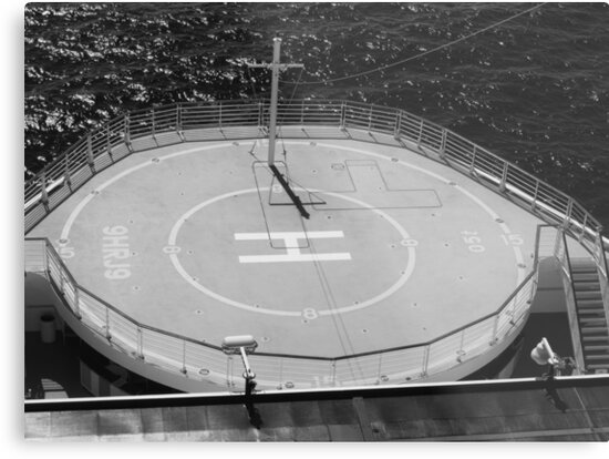 Ship Helicopter Pad by Michael McGimpsey