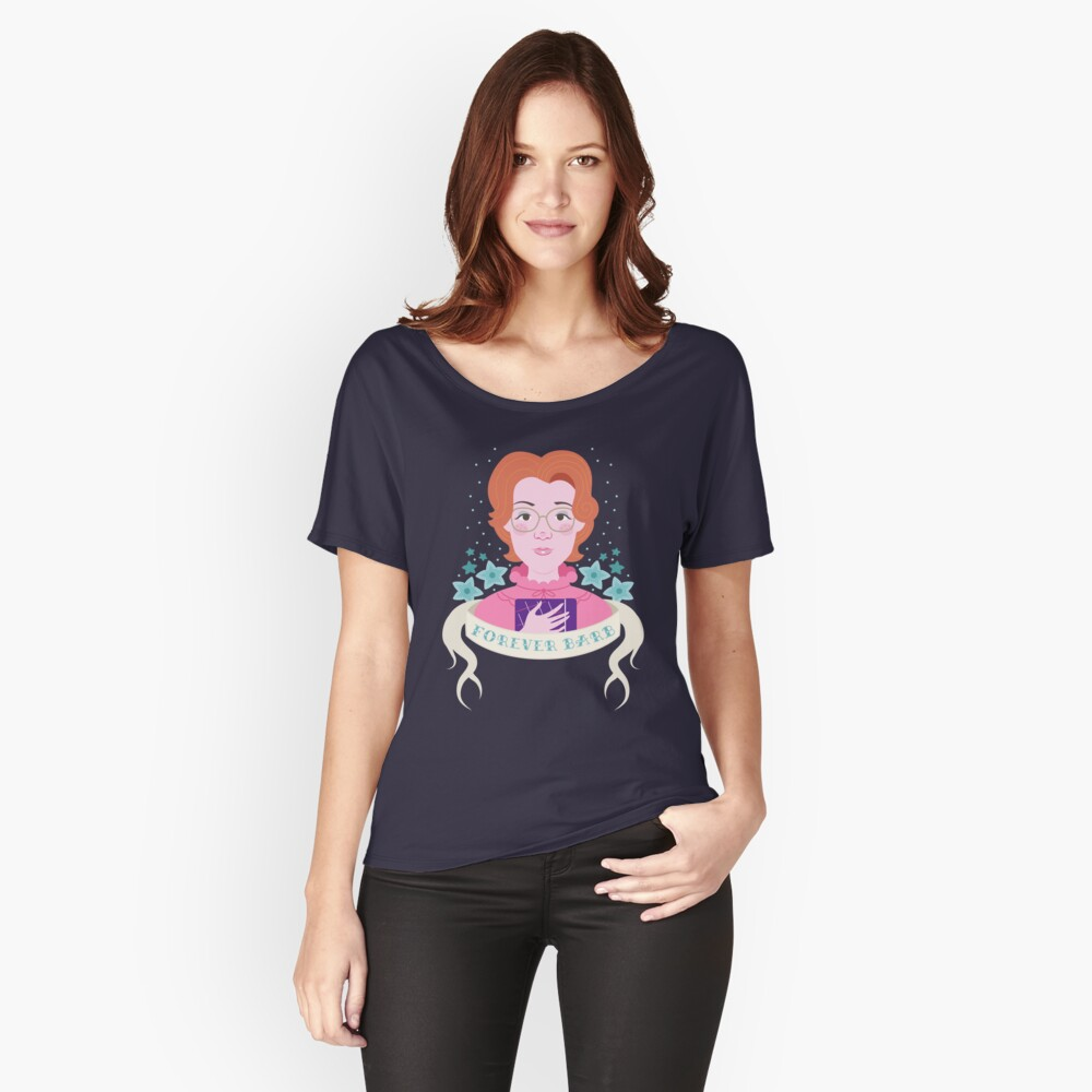 Forever Barb Women's Relaxed Fit T-Shirt Front