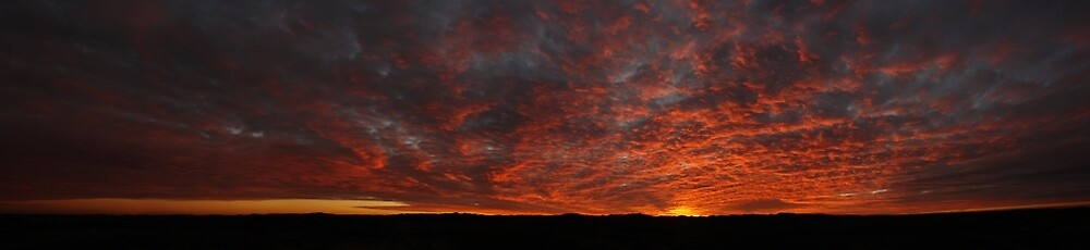 Sky Fires by ArtByRosalind