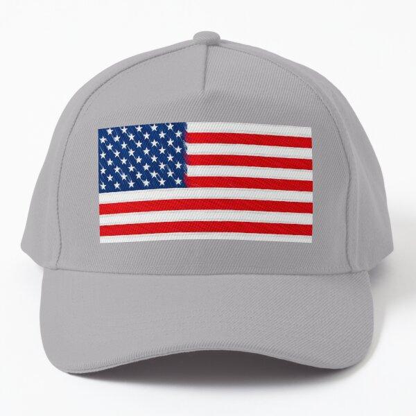 Stylish USA American Flag - Pen Fill Baseball Cap