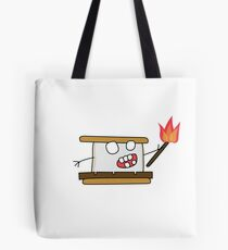 angry zombie s'more Tote Bag