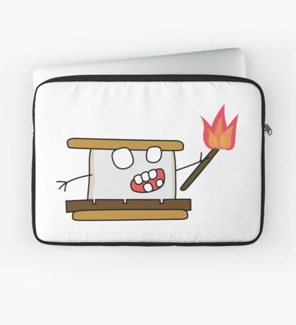 angry zombie s'more Laptop Sleeve