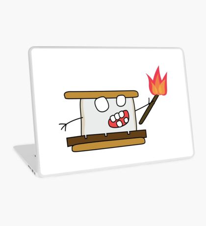 angry zombie s'more Laptop Skin