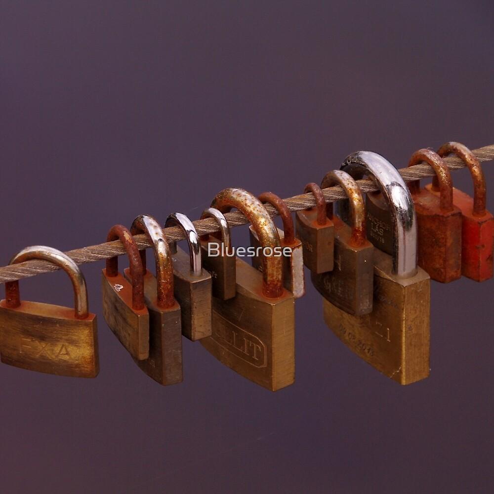 Locked love by Bluesrose