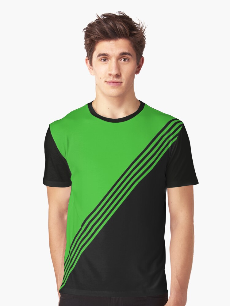 Green Pro Graphic T-Shirt Front