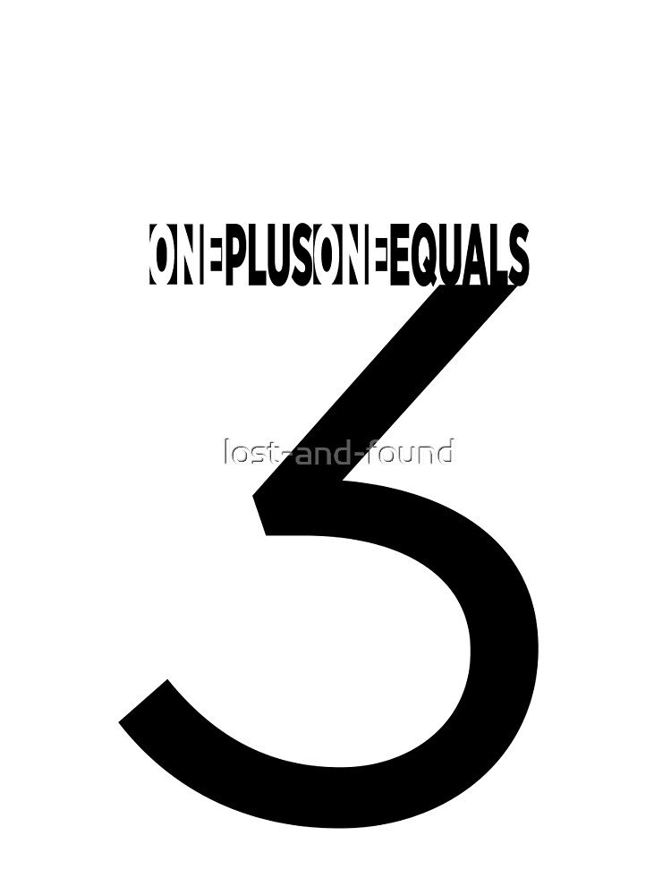 One Plus One Equals by lost-and-found