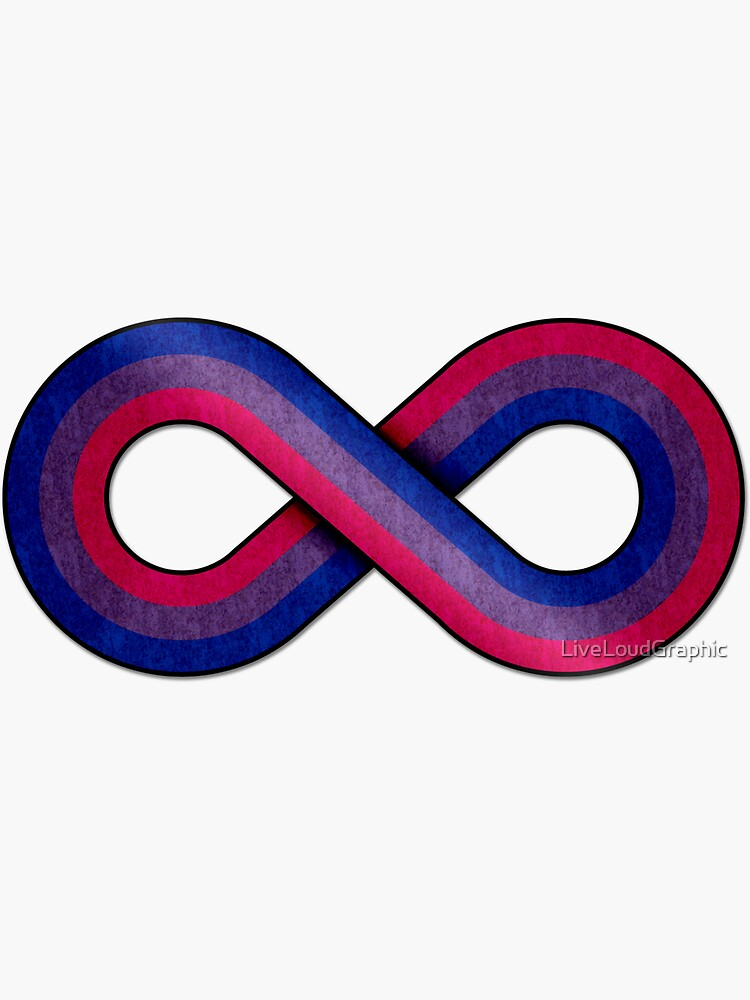 Bisexual Infinity by LiveLoudGraphic