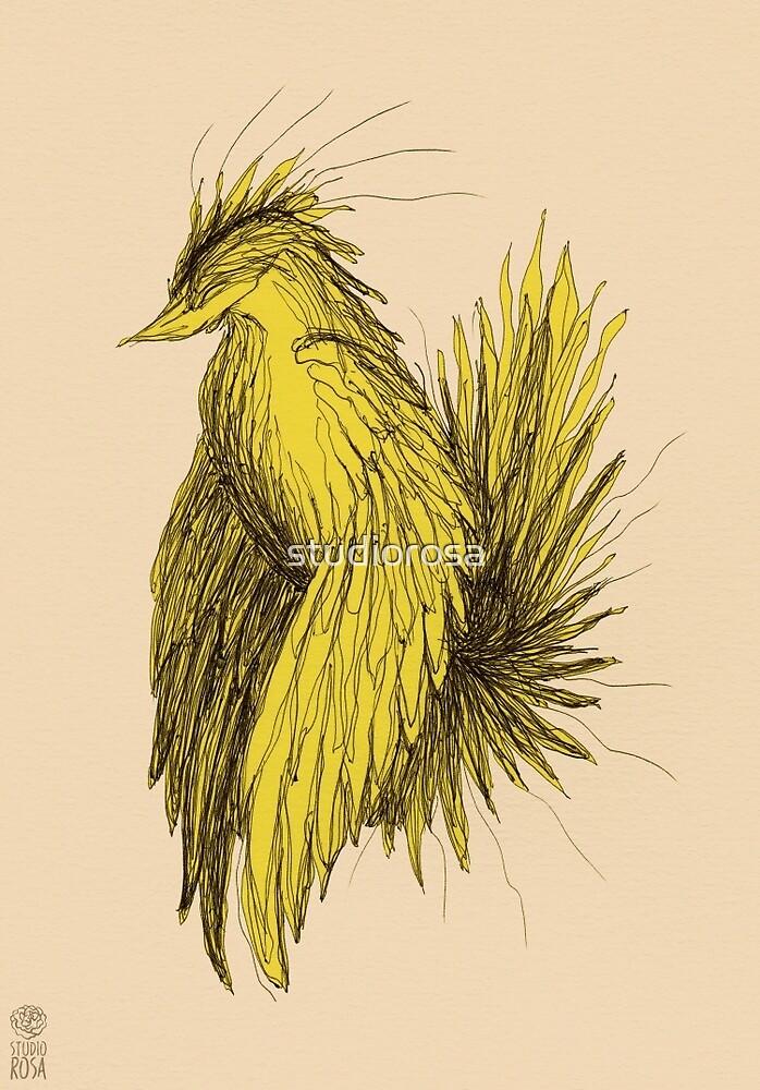 Yellow Bird by studiorosa