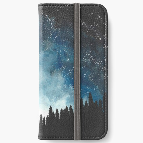 Night Sky iPhone Wallet