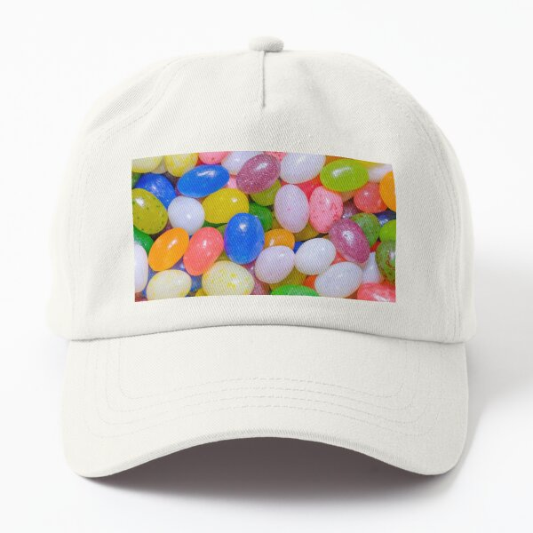 Gourmet Jelly Beans Colorful Candy Photograph Dad Hat