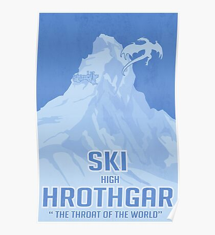 Ski Hrothgar Poster