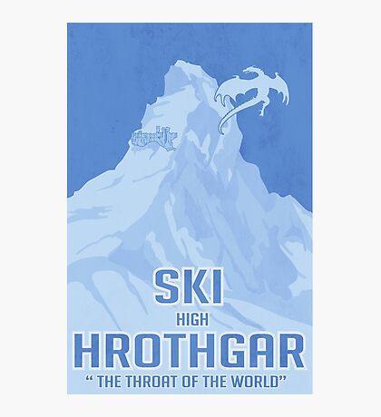 Ski Hrothgar Photographic Print