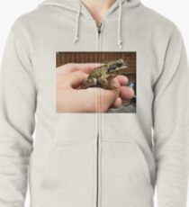 A TOAD IN THE HOLE. Zipped Hoodie