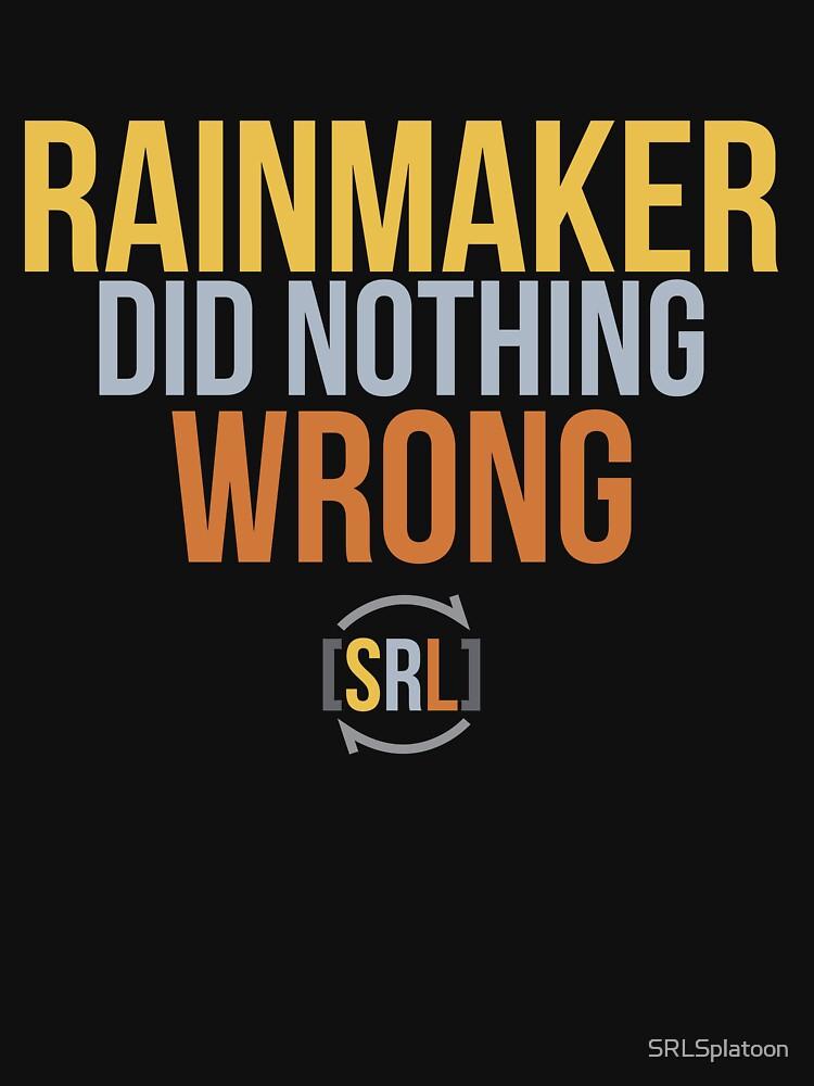 Rainmaker Did Nothing Wrong - SRL Color by SRLSplatoon
