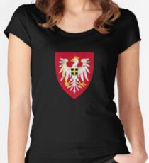 Redania Coat of Arms - Witcher Women's Fitted Scoop T-Shirt