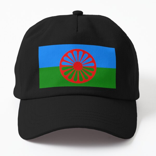 Flag of the Romani people Dad Hat