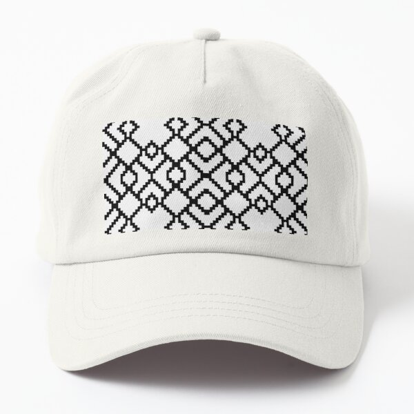 Geometric Abstraction Decorative Pattern Dad Hat