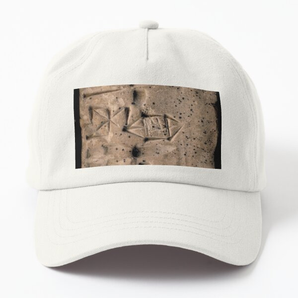 Proto-Elamite (ca. 3100-2900 BC) Clay Tablet, Language Undetermined Dad Hat