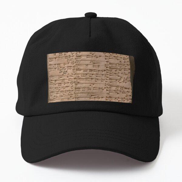 Clay Tablet, Period: Ur III (ca. 2100-2000 BC)  Dad Hat