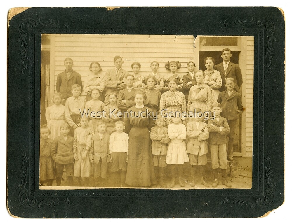 Unknown School, Calloway County, Kentucky Area  by Don A. Howell