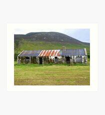 The Barns Of Urris.................................Ireland Art Print