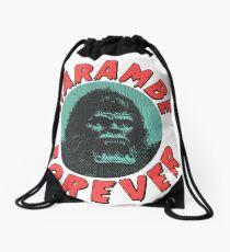 Harambe Forever Drawstring Bag