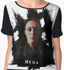Heda - The 100 Women's Chiffon Top