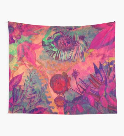 Flora 5 Wall Tapestry