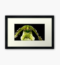 Captain Trips - Orchid Alien Discovery Framed Print