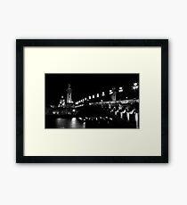 Pont Alexandre 3 (Black and White) Framed Print