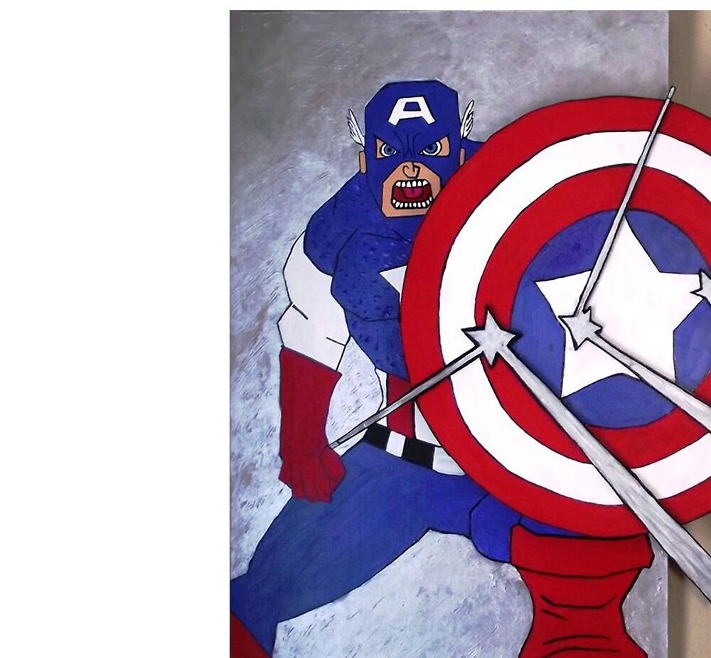 Cap under fire by Tom Schinderling