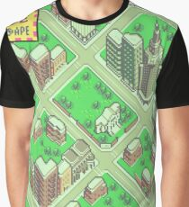 Earthbound: Fourside Graphic T-Shirt