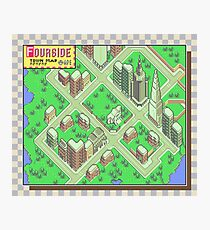 Earthbound: Fourside Photographic Print