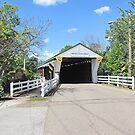 Newton Falls Covered Bridge by Jack Ryan