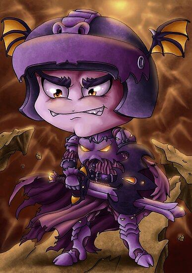 Bat Knight by ianablakeman