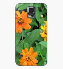 Orange and yellow daisies Case/Skin for Samsung Galaxy