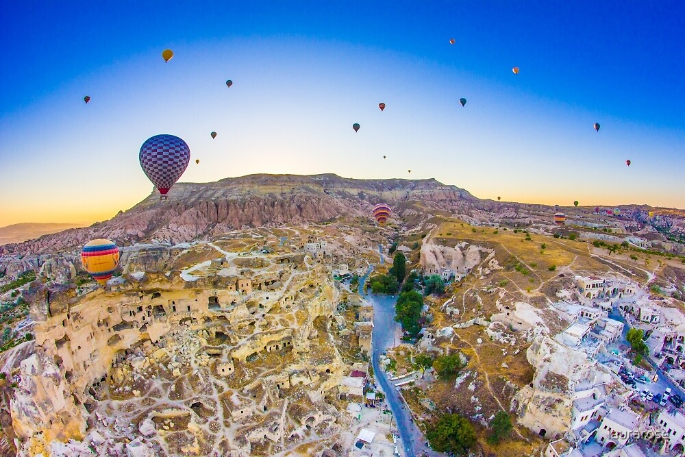 Cappadocia Hot Air Balloon II by laurarose