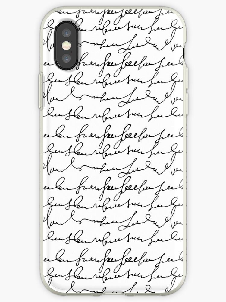 Vintage simple black white typography pattern  by Maria Fernandes