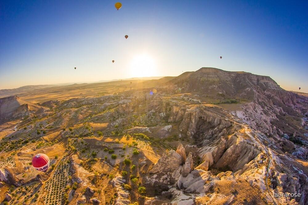 Cappadocia Hot Air Balloon V by laurarose